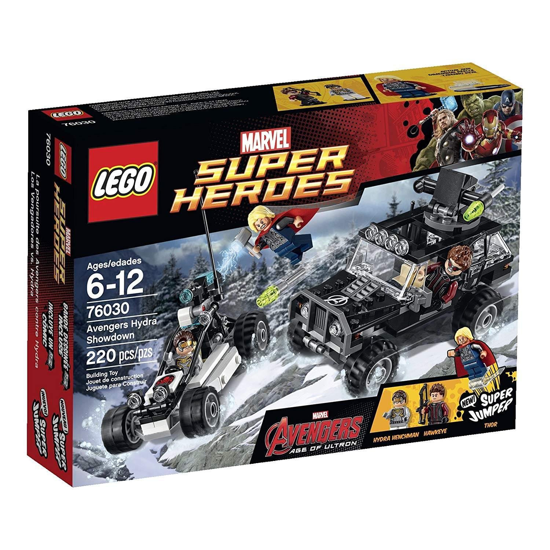 lego avengers hydra showdown