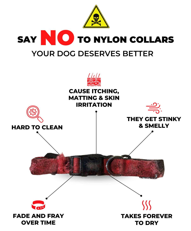List of negative for wearing nasty nylon collars