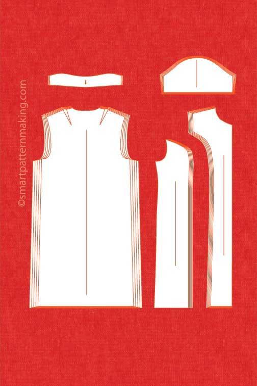 Dresses pattern grading