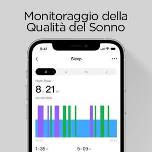 Amazfit GTS 2 mini - Monitoraggio della Qualita del Sonno