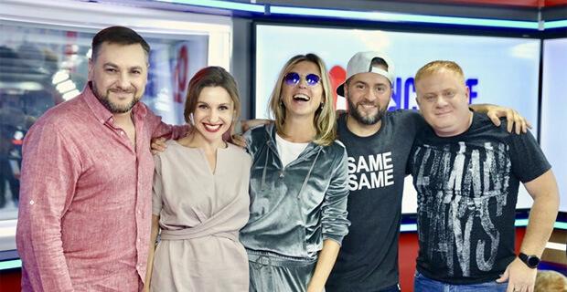 Лика Стар и Иракли в гостях у «Русских Перцев» - Новости радио OnAir.ru