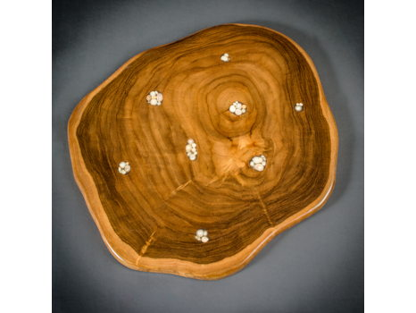 Teak Cheese Board by Steve Tobin
