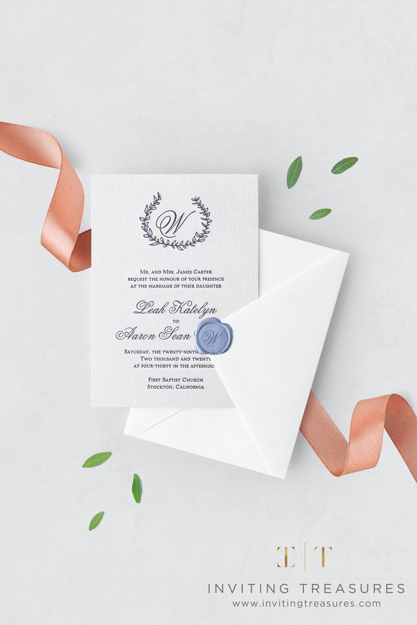 Whimsical Day Wedding Invitation