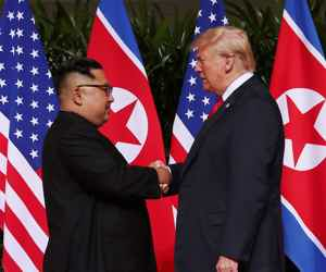 Trump and Kim Rekindle Romance