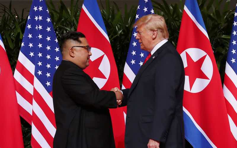 Trump and Kim Rekindle Romance