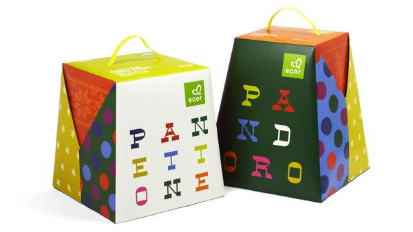 Ecor - Panettone and Pandoro boxes