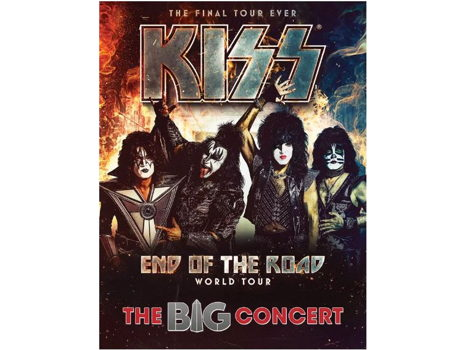 2 Concert Tickets to the BIG Concert starring KISS