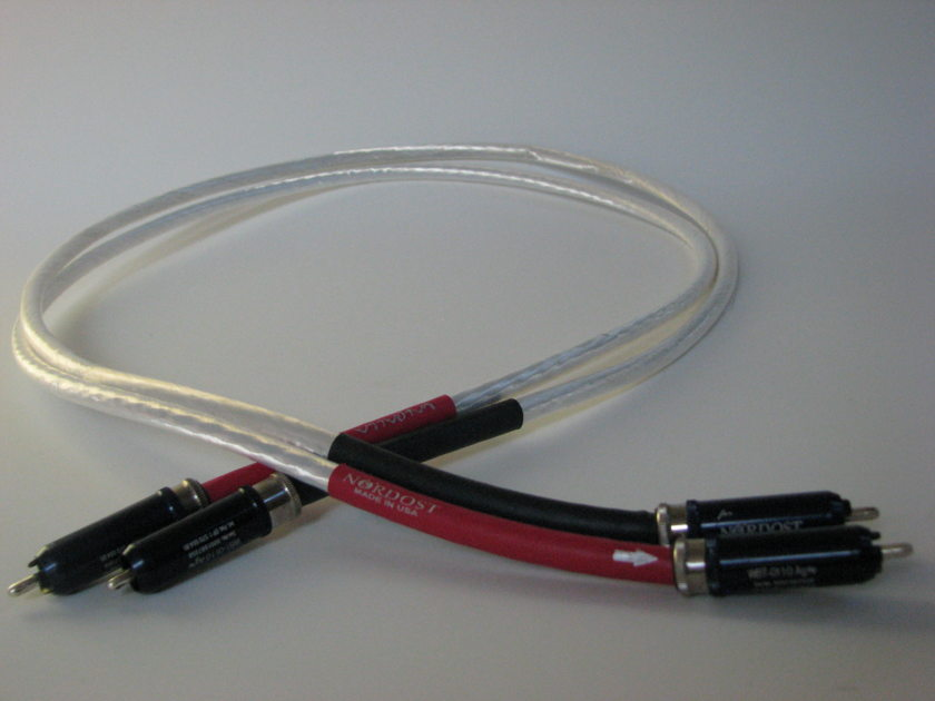 Nordost Valhalla Reference Interconnect Pair of Analog/RCA Cables