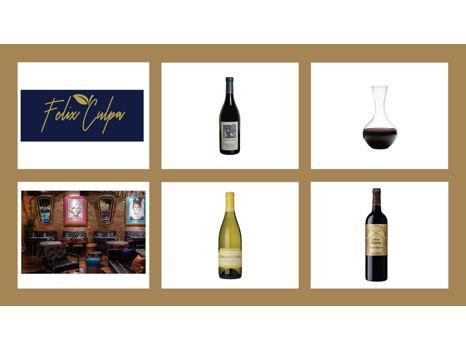 Felix Culpa Dinner Experience & Refined Wine Basket