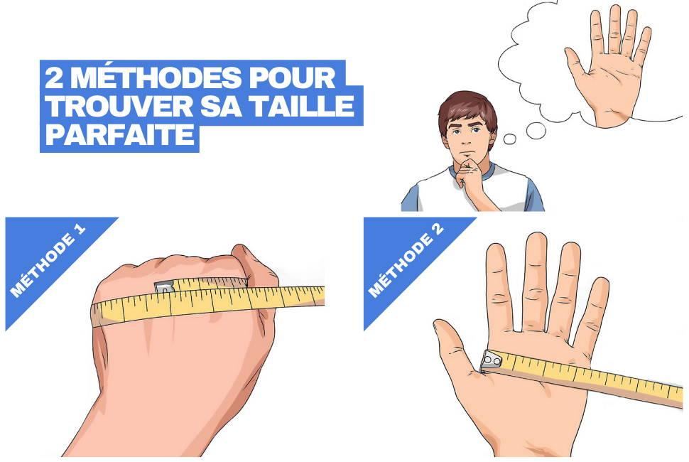 comment mesurer main gants trottinette electrique