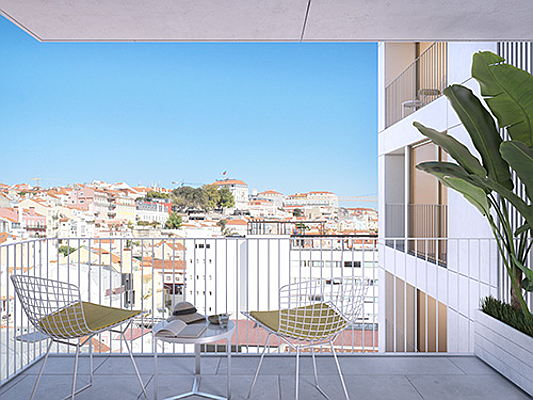 Visp - Walking distance from the waterfront and the old town, the utterly modern Martinhal Residences give access to Lisbon's rustic charm.