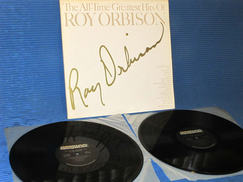 """ROY ORBISON -  -  """"The Greates Hits Of"""" - Monument 1977 Canadian Pressing"""