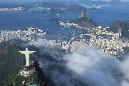 Corcovado with Christ Statue & Sugar Loaf Complex