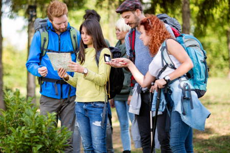 Hillwalking and Navigation Day Course in Peak District