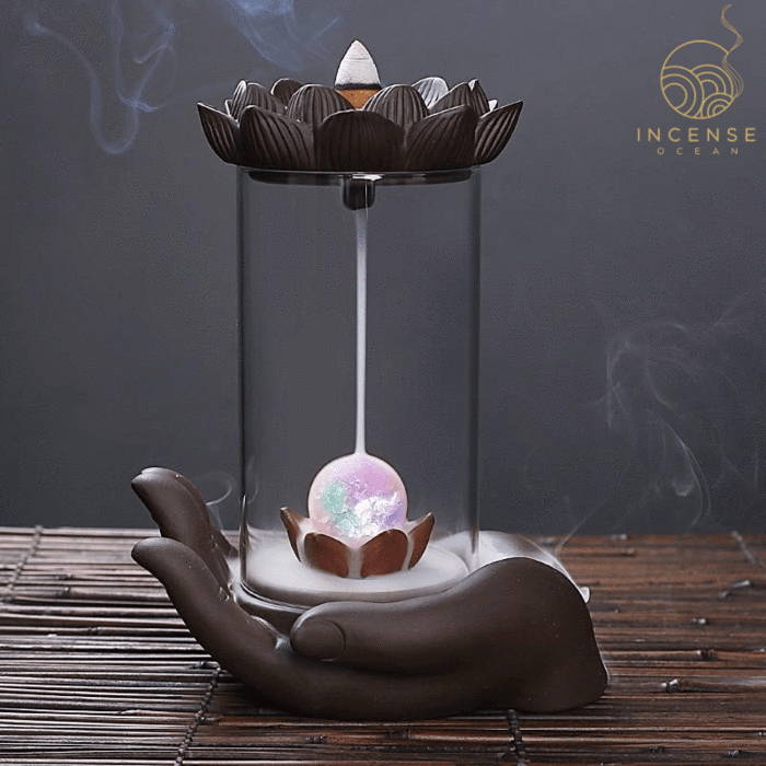 Windproof Backflow Incense Burner