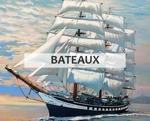 Peinture par numéros collection bateaux