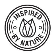 INSPIRED BY NATURE Organique brand