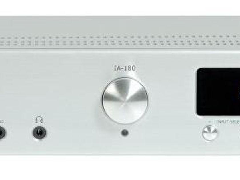 Micromega IA-180 Integrated Amplifier (Silver l): Manufacturer Refurbished; Full Warranty; 68% Off