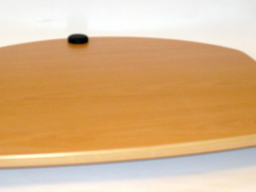 Target Wood Amplifier Stand Beech Finish with Black Trim, New