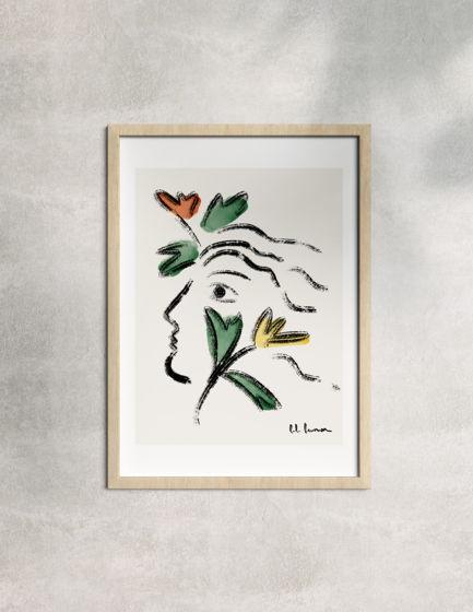"""Постер формата А4 """"Весна"""""""