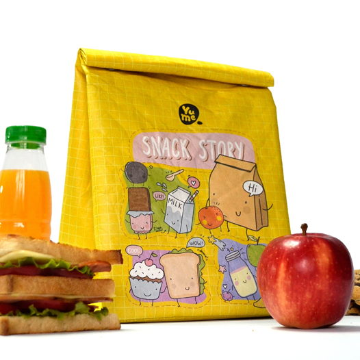 "Термо-сумка Youshi Lunch Bag ""Snack Story"" от YuMe"