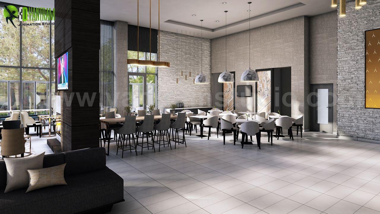 Best Cafe, Bar U0026 Restaurant Interior Designs By Yantram Interior Design  Firms   Vegas, USA | Yantramstudio | AWRD アワード