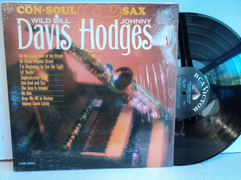 Wild Bill Davis & Johnny Hodges - Con-Soul and Sax RCA LPM-3393 Mono (NM)