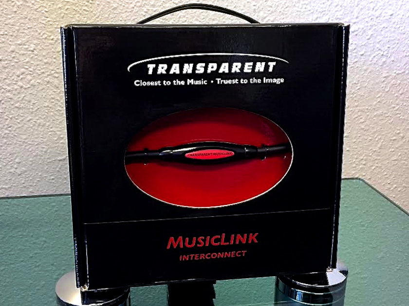 Transparent Audio Musiclink Interconnects