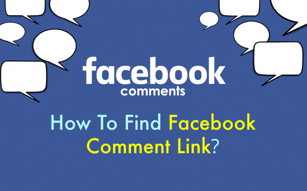 How To Find Facebook Comment Link/URL?