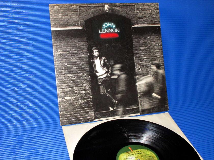 """JOHN LENNON  - """"Rock N' Roll"""" -  Apple 1975 Original Release"""