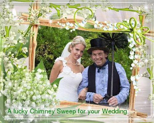 Weddings Lucky Chimney Sweep