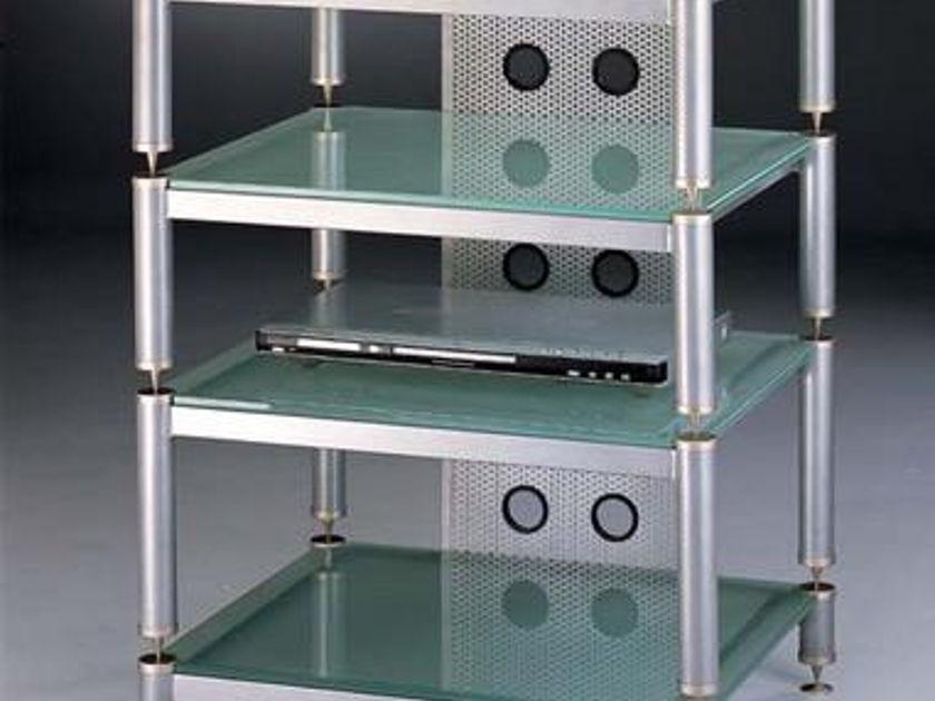Vti Blg404 Audio Beautiful Glass rack, brand new, look !