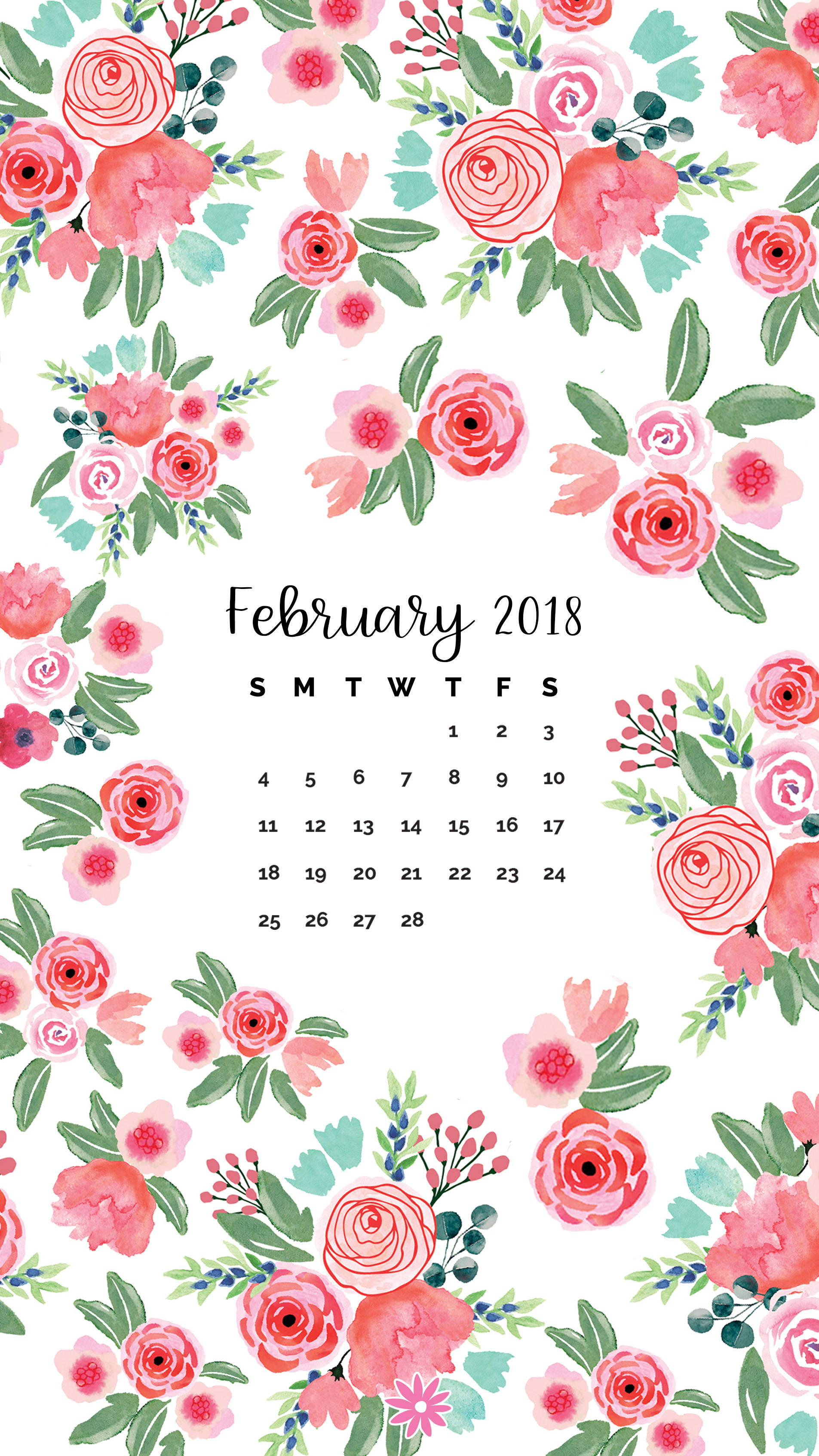 February 2018 Downloads Bloom Daily Planners