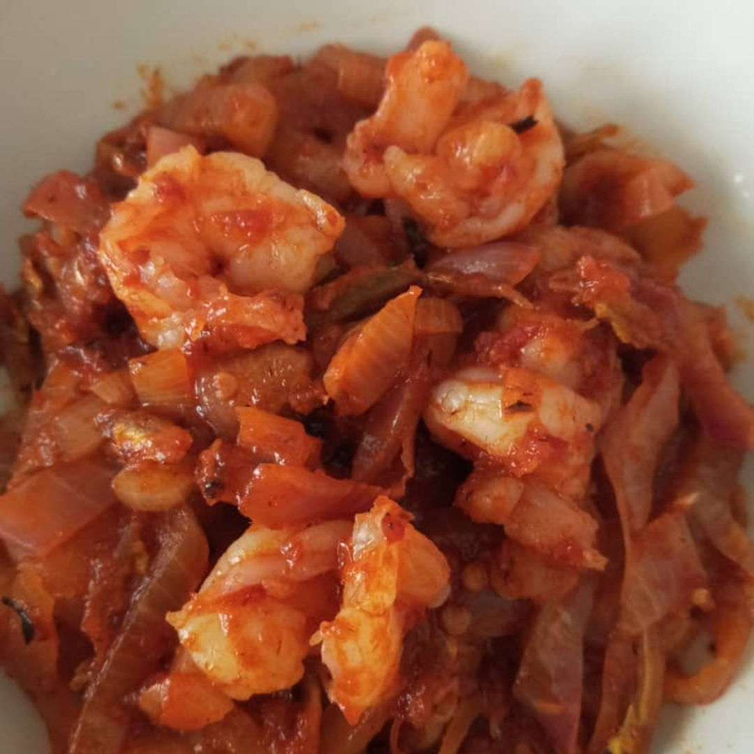Been craving for this Prawn Sambal. Finally cooked it! 🍤😁