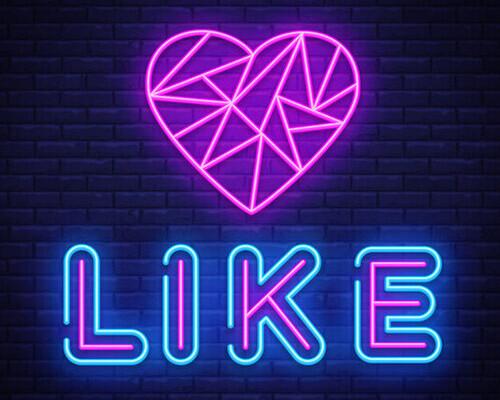 get more likes on social media