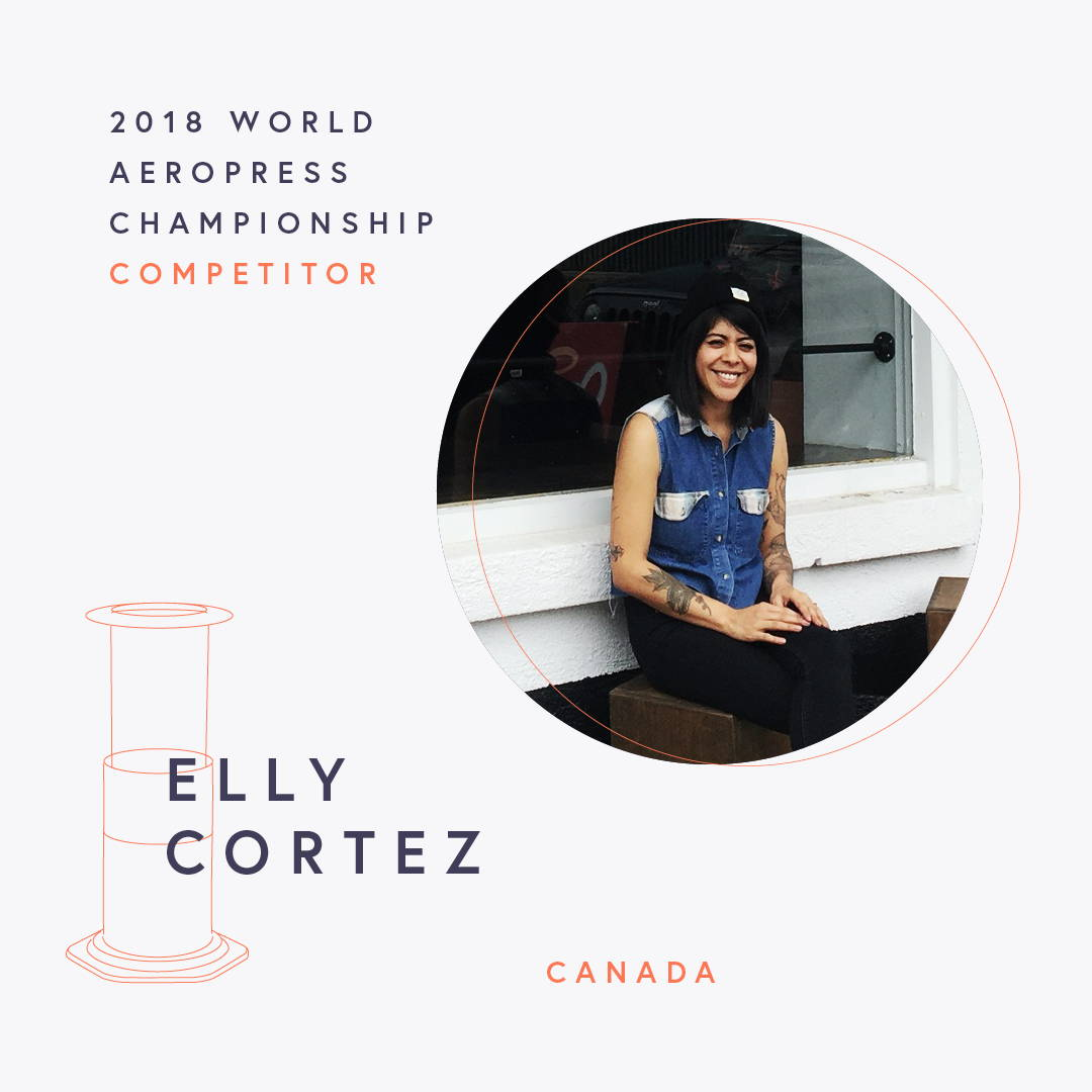 The World AeroPress Championships: Elly Cortez