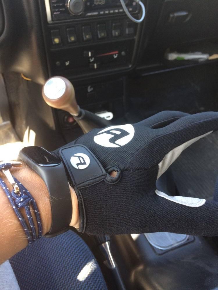 gants trottinette coupe vent ajustes