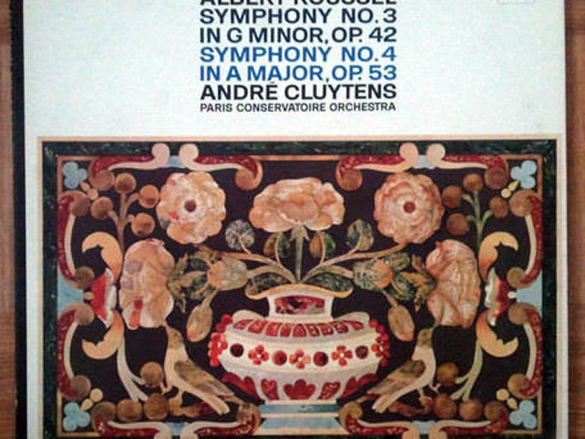 Angel (blue label)/Andre Cluytens/Roussel - Symphonies Nos. 3 & 4 / NM