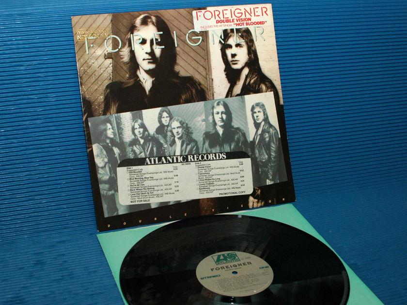 """FOREIGNER -  - """"Double Vision"""" - Atlantic 1978 Promo w/dDJ strip Hot Stamper"""