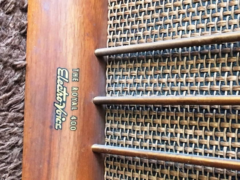Electrovoice Royal 400 Speakers for Restoration