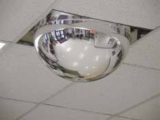miroir plafond suspendu