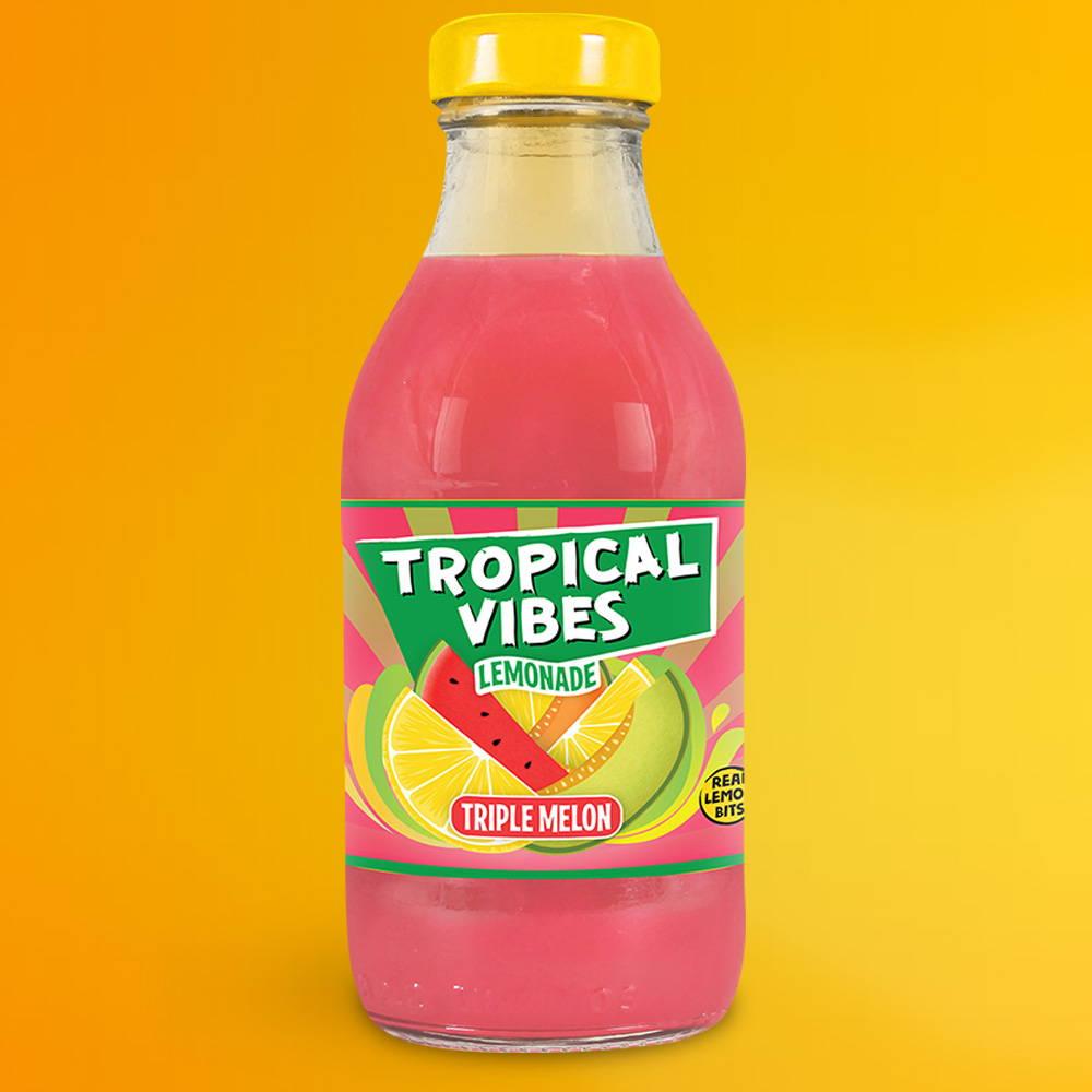 tropical vibes triple melon lemonade