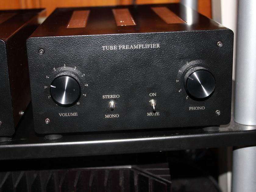 TubeGuru All-Tube Phono Preamp w/separate tubed PS