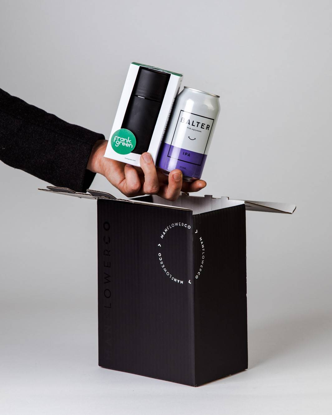 Frank Green + Beer, part of Manflower Co's range of Father's Day Gifts.