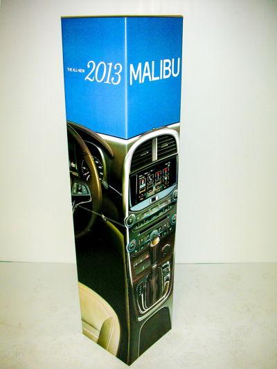3D Display Chevy Malibu