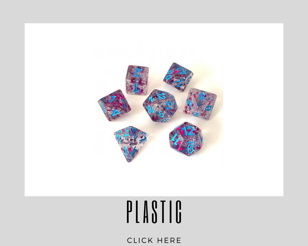 Corporate Plastic Custom Dice
