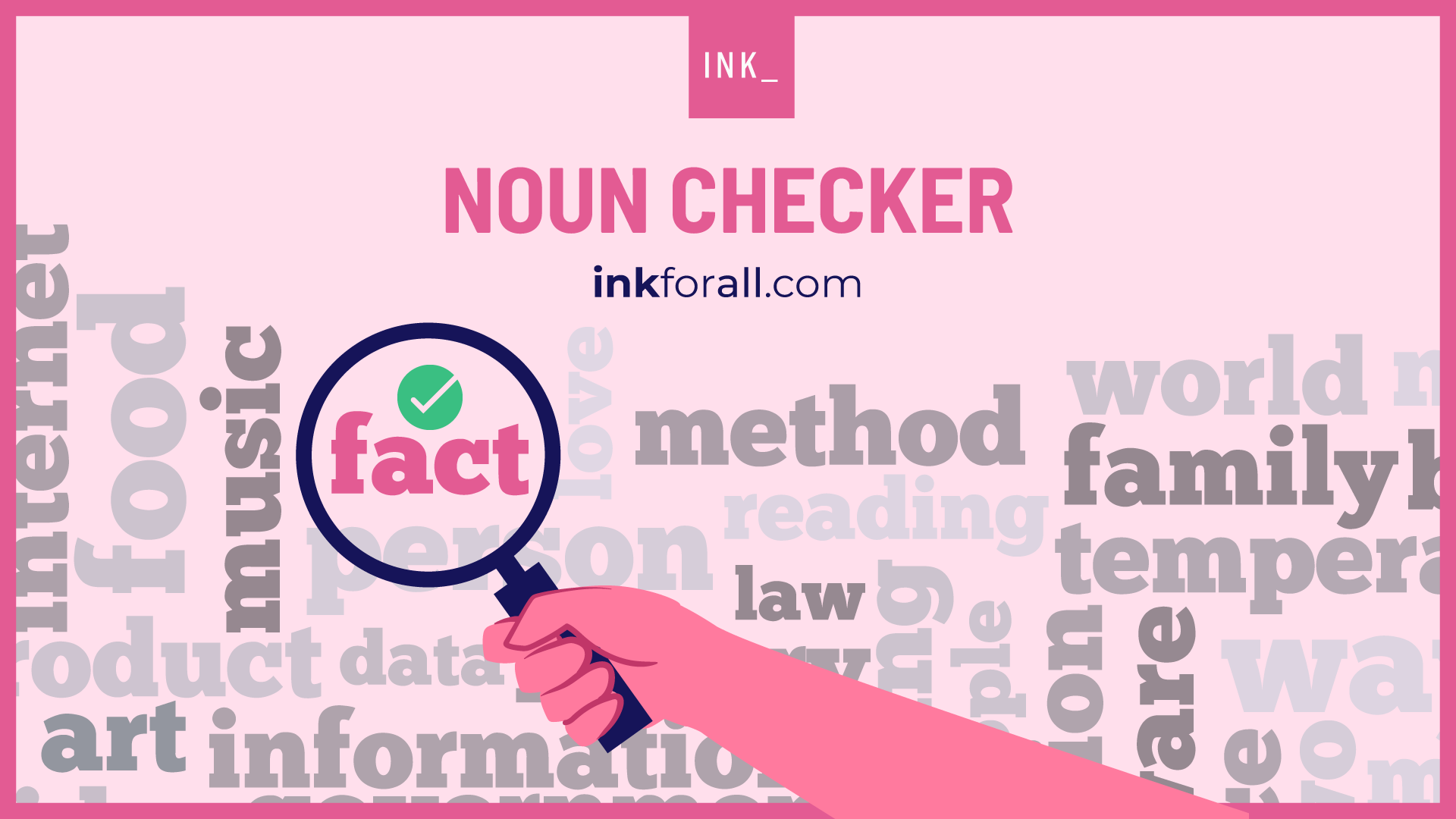 Noun checker