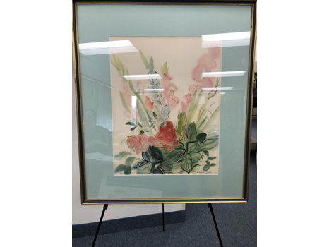 Numbered Floral Print from Raoul Dufy