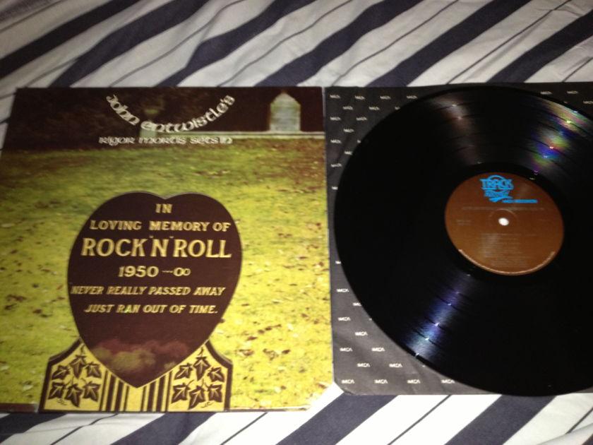 John Entwistle(The Who) - Rigor Mortis Sets In Gatefold Cover LP NM