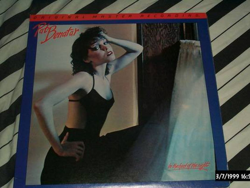 Pat Benatar - MFSL in the heat of the night audiophile japan